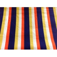 Edinburgh Weavers striped cotton fabric